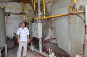 "Biogas plant in farm ""Dary Prirody"""